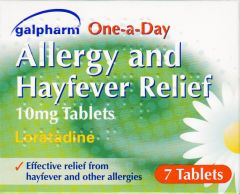Galpharm One A Day Allergy & Hayfever Relief Loratadine 10mg Tablets 7's