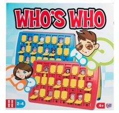 Traditional Games - Who Is Who?