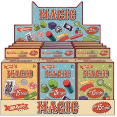 Retro 15 Magic Tricks Assorted Designs CDU