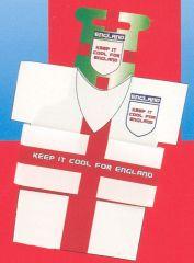 England Shirt Beer Cooler