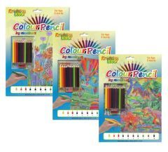 Colour Pencil By Numbers 29cm x 22cm 6 Assorted Designs