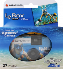 AgfaPhoto LeBox Ocean Single Use Camera 27Exp