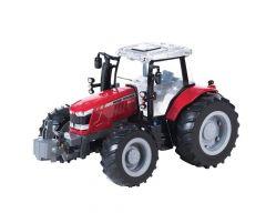 Big Farm Massey Ferguson 6613 Tractor And Kane Low Loader Set