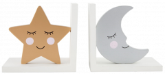 Sweet Dreams Stars & Moon Bookends