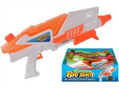 Water Gun - Hydrostorm -  36cm Big Shot Pump Action Water Gun - Assorted Colours CDU