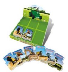 Tractor Ted Shaped Memo Pads