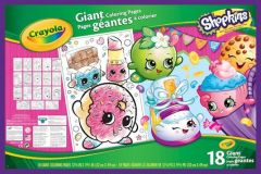 Crayola Shopkins Giant Colouring Book