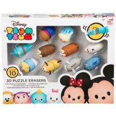 Tsum Tsum 10 Pack 3D Puzzle Eraser
