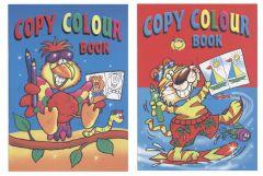 A4 Copy Colour Book 2 Titles 24 Pages