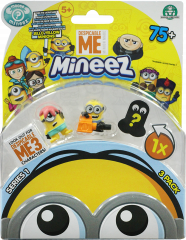 Despicable Me Mineez Core Collectors Pack 3 Pack Series 1