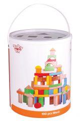 Wholesale 100 Piece Wooden Blocks