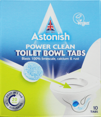 Astonish Power Clean Toilet Bowl Cleaner Tablets 10's 250g