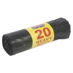 Bin Bags Value 20 Per Roll