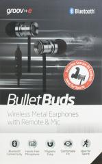 Groov-e Bullet Buds Wireless Metal Earphones