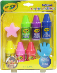 Crayola Body & Face Paints Gift Set