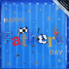 Father's Day Boxed Card - Text