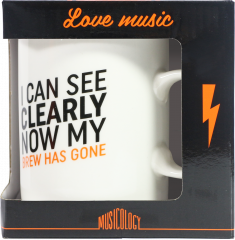 Musicology Gift - I Can See Clearly Now My Brew Has Gone Mug