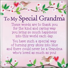 Magnet - To My Special Grandma