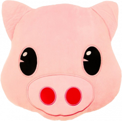Wholesale Pig Emoji Cushion