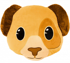 Wholesale Puppy Emoji Cushion