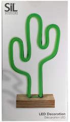 Neon Cactus LED Light