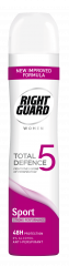 Right Guard Total Defence Anti-Perspirant Sport For Women 250ml