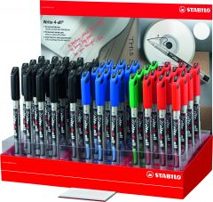 Stabilo Write 4 All Markers Assorted Colours CDU