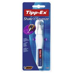 Tipp-Ex Shake & Squeeze Pen Carded