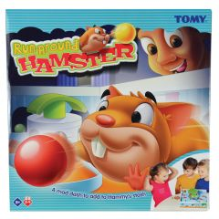 Tomy Games Run-Around Hamster