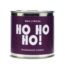 Wax Lyrical Slogan Fragranced Tin Candle Ho Ho Ho!