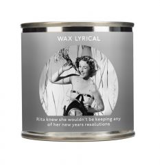 Wax Lyrical Christmas Tin Candle 200g - New Years Resolution