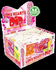 Swizzels 30p Love Hearts Dip