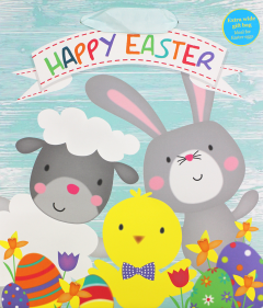 Easter Characters Gift Bag Large