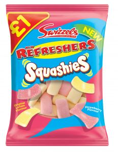 Swizzels Refreshers Squashies £ PMP 145g
