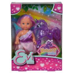 Evi Love - Unicorn Friend Set with 12cm Doll