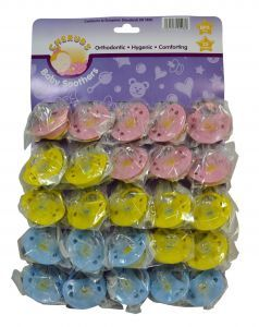 Cherubs Baby Soothers Carded