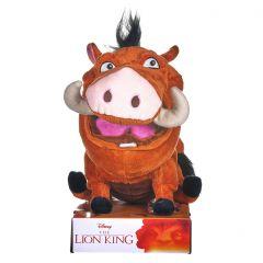 """Lion King Pumba 10"""" Plush in Gift Box"""