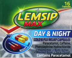 Lemsip Max Day & Night Capsules 16's
