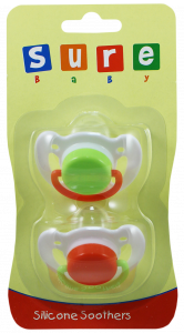 Silicone Soothers 2 Pack