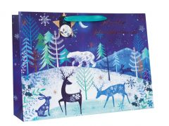 Gift Bag Extra Large Shopper Midnight Forest