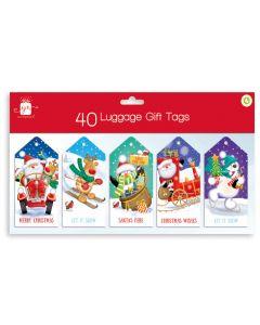 40 Luggage Tags Novelty Hang Pack
