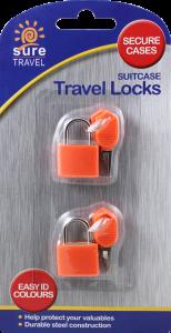 Travel Case Lock 2 Pack