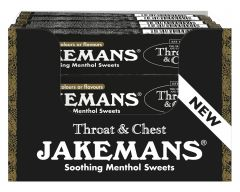 Jakemans Soothing Menthol Sweets Stickpack - Throat & Chest 41g