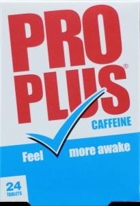 Pro Plus Caffeine Tablets 24's