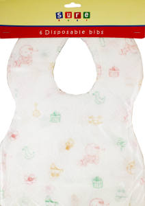 Disposable Bibs Pack of 6