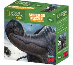 Super 3D 150 Piece Jigsaw Puzzle - Argentinosaurus