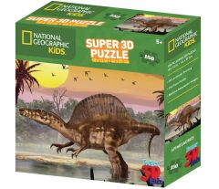 Super 3D 150 Piece Jigsaw Puzzle - Spinosaurus