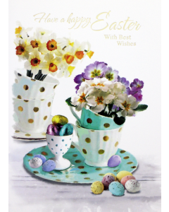 Easter Card Open - Breakfast