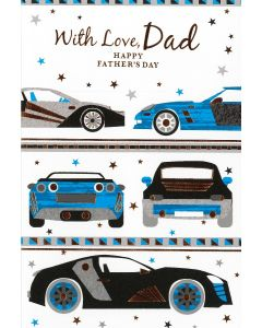 Father's Day Card Dad - Cars
