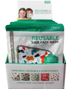 Reusable Stretchable Kids Face Mask
